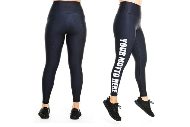 Day Won Black Plus-Size Leggings