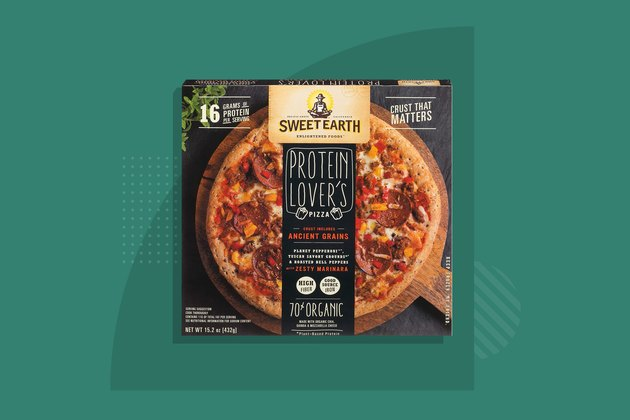 Sweet Earth's Protein Lover's Frozen Pizza
