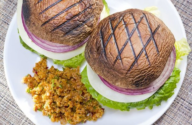 Grilled Vegetable Burgers recipe