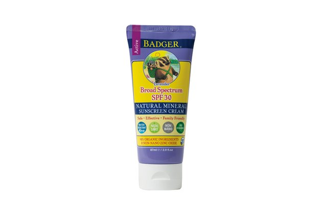 Badger Sunscreen Cream SPF 30 Lavender