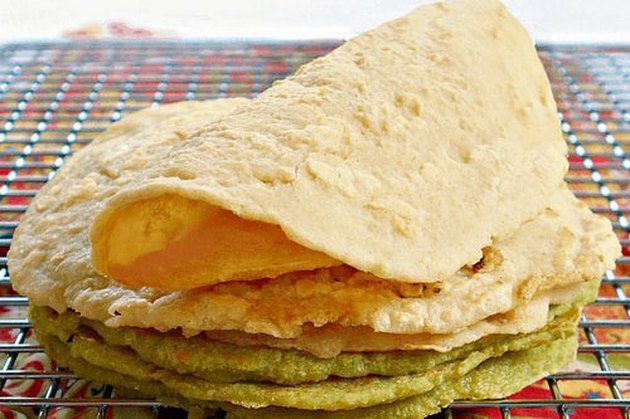 One-Ingredient Split Pea Tortillas Recipe