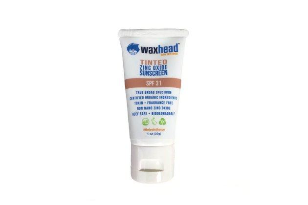 Waxhead Sun Defense Tinted Zinc Oxide Sunscreen SPF 31