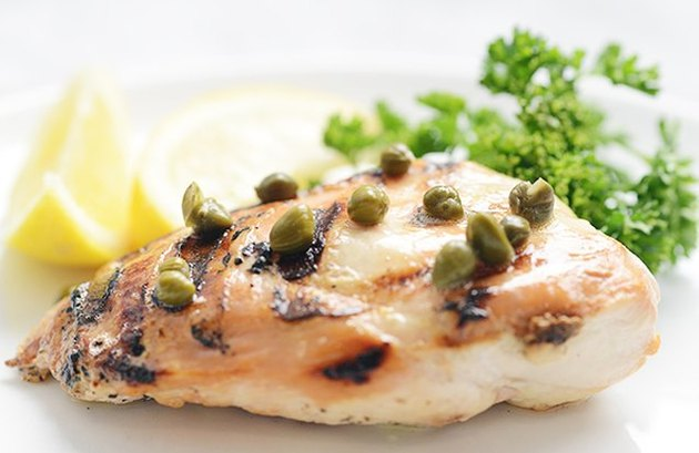 Weight Watchers friendly recipes Lemon & Caper Grilled Chicken Breast