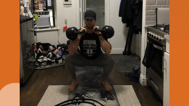Move 1: Kettlebell Squat