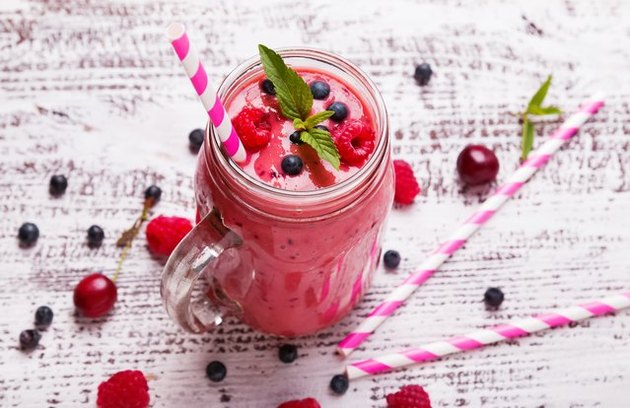 Triple-Berry Smoothie