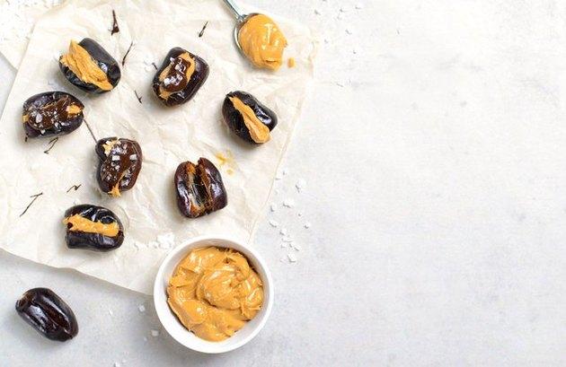 Almond Butter-Stuffed Dates