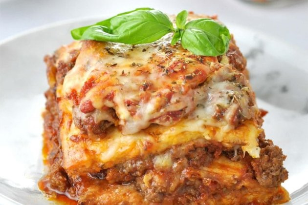 """Just Like the Real Thing"" Low Carb Keto Lasagna"