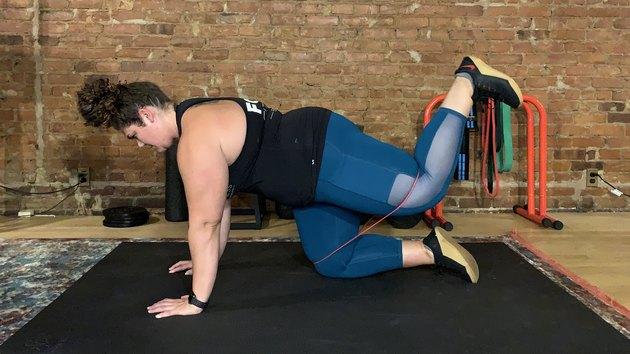 Move 7: Quadruped Hip Extension