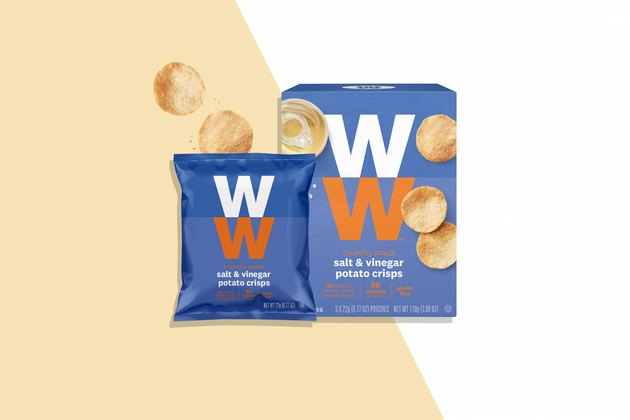 Weight Watchers snacks Salt and Vinegar Potato Crisps
