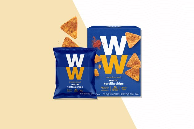 Weight Watchers snacks Nacho Tortilla Chips