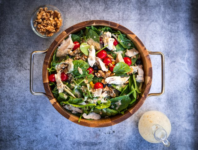 Fit5 Summer Salad hearty salad recipe