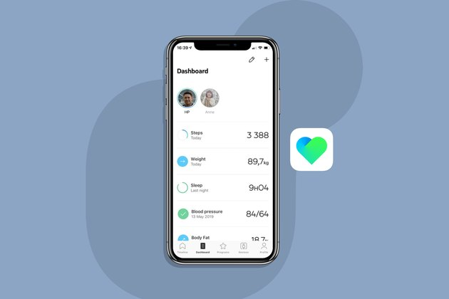 Withings Health Mate blood pressure app