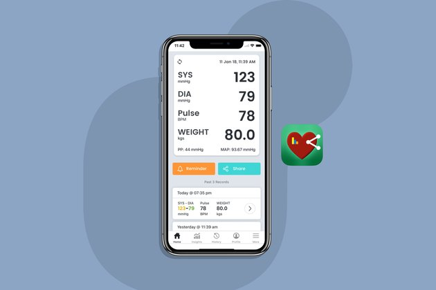 Smart BP Smart Blood Pressure app