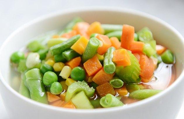 Simple Veggie Tofu Soup