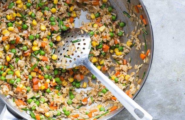 Supper Veggie Fried Rice leftover rice dinner recipes