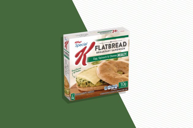 Kellogg's Special K Spinach, Egg & Cheese Medley Flatbread