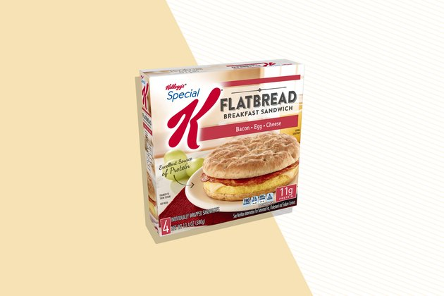 Special K Bacon, Egg & Cheese Flatbread Breakfast Sandwich