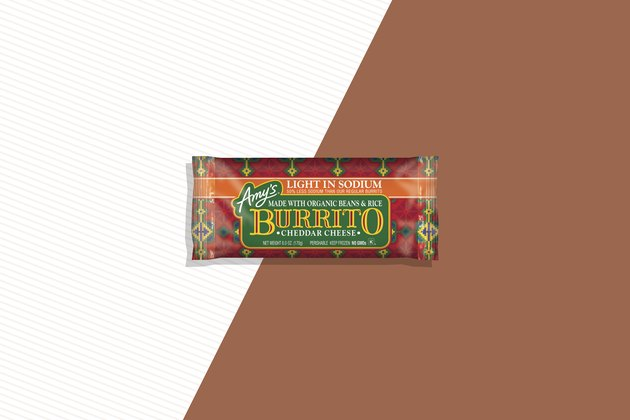 Amy's Light-In-Sodium Cheddar Cheese, Bean & Rice Burrito