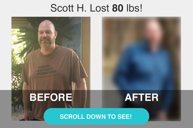 Scott's before and after photos