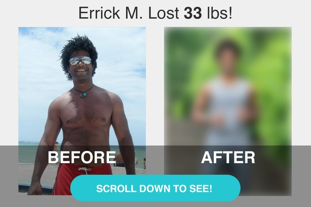 Scroll down to see Errick's transformation.