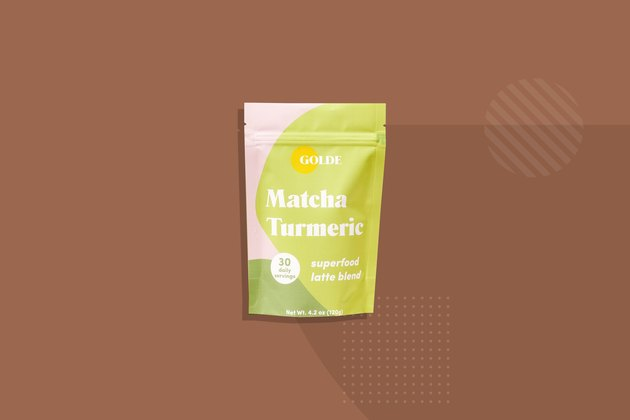 Golde  matcha turmeric tea