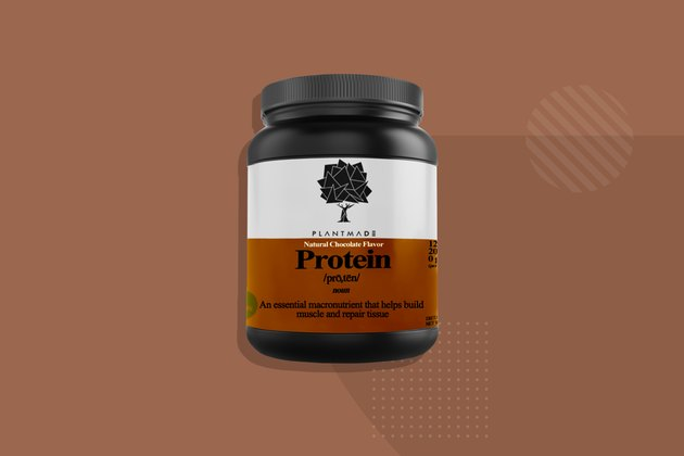 Plantmade chocolate protein powder