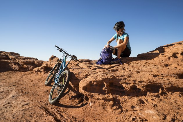 Mountain biking will give you a thrilling endurance workout on your roap trip through the Southwest.