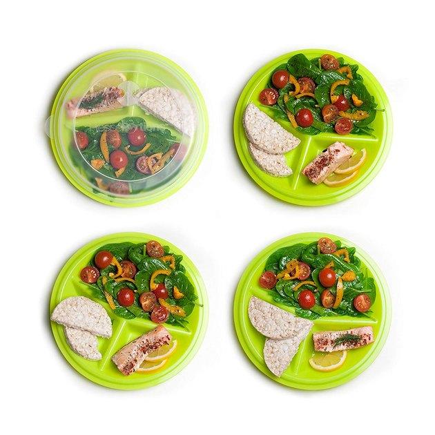 Precise Portions 2-Go Healthy Portion Control Plates