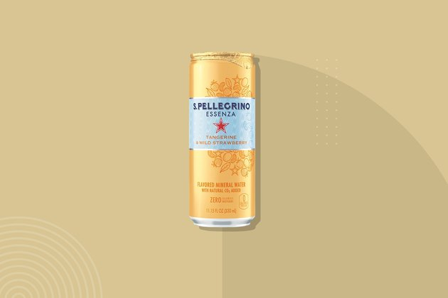 San Pellegrino Essenza Sparkling Natural Mineral Water, Tangerine & Wild Strawberry