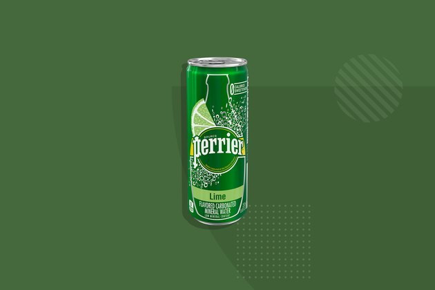 Perrier Carbonated Mineral Water Lime