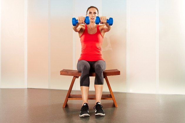 Move 12: Dumbbell Arm Circle