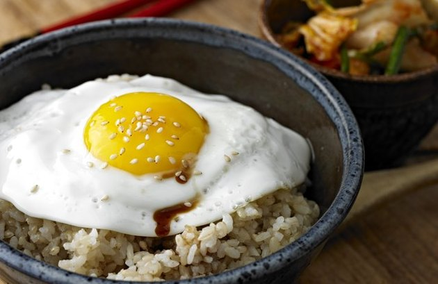 Easy Asian-Style Rice with Egg
