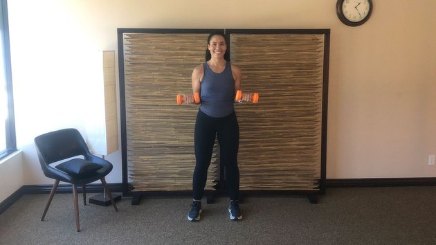 Isometric Hold 3: Biceps Curl Hold