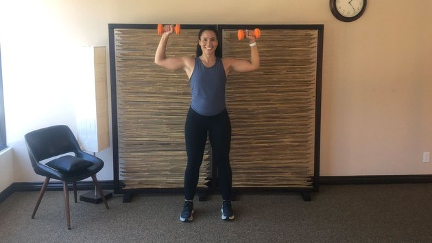 Isometric Hold 2: Shoulder Press Hold