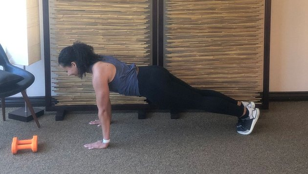 Isometric Hold 4: High Plank