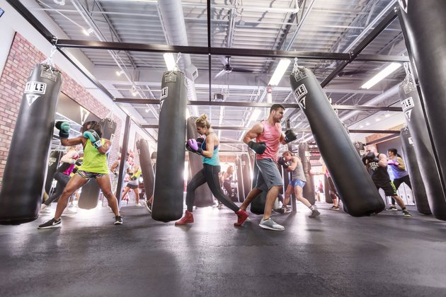 boxing class fitness workout