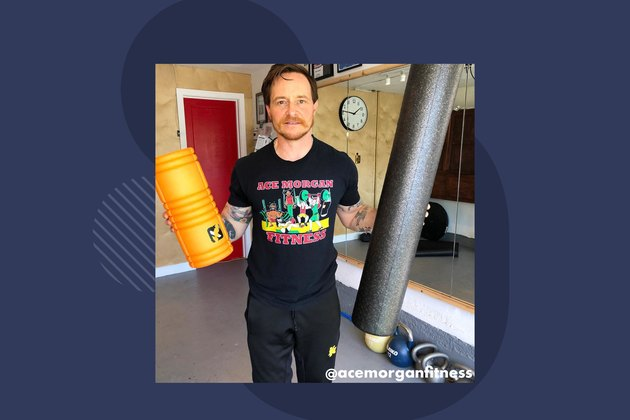 Ace Morgan, personal trainer and owner of Ace Morgan Fitness