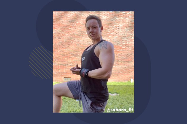 Personal trainer Sahara Gentry, founder of Sahara Fitness Gear