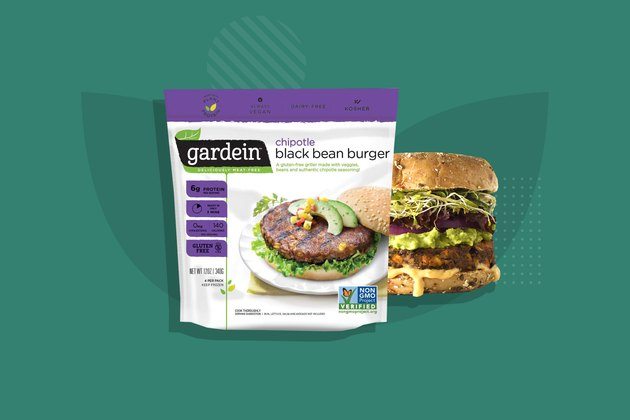 Gardein Chipotle Black Bean Burger Veggie Burger
