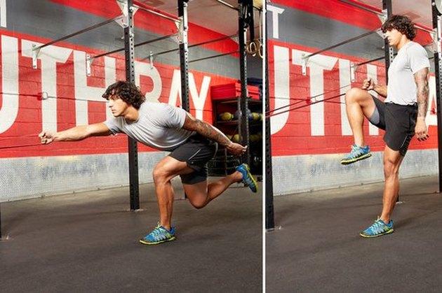 28. Single-Leg Squat and Row