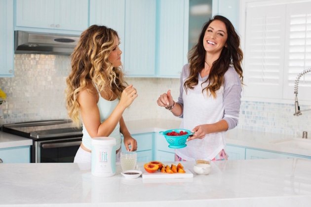 tone it up girls in the kitchen