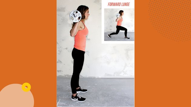 Move 2: Forward Lunge