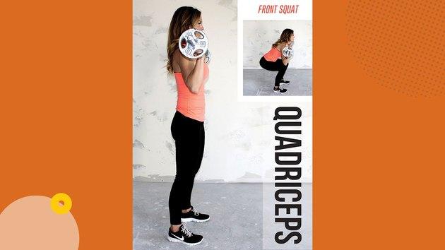 Move 1: Front Squat