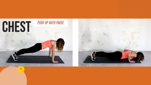 Move 1: Push-Up With Pause