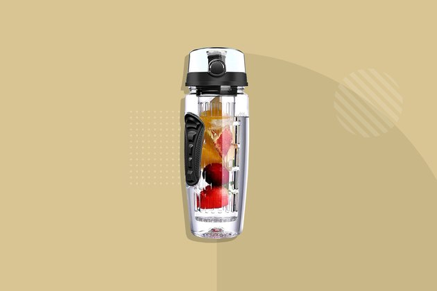 OMORC Sport Fruit Infuser Water Bottle
