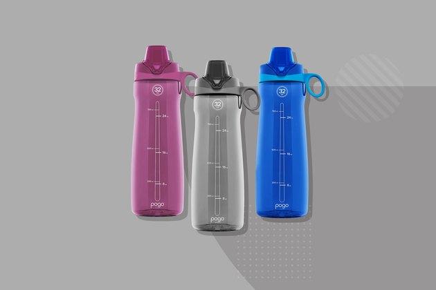 Pogo Plastic Water Bottle With Chug Lid