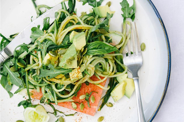 Chili Lime Cucumber Noodle with Watermelon