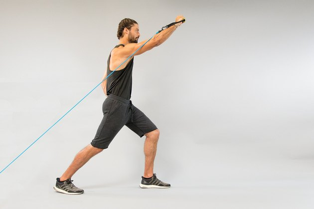4. One-Arm Incline Band or Cable Press