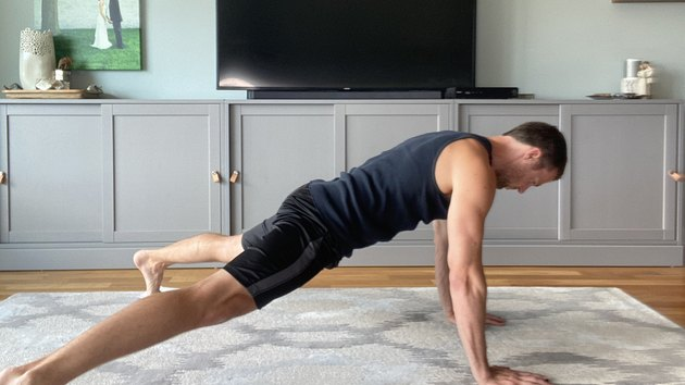 Move 1: High Plank In and Out