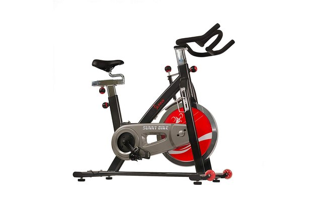 Sunny Health and Fitness belt drive indoor cycling bike